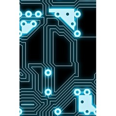 A Completely Seamless Background Design Circuitry 5 5  X 8 5  Notebooks by Amaryn4rt