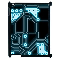 A Completely Seamless Background Design Circuitry Apple Ipad 2 Case (black) by Amaryn4rt