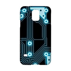 A Completely Seamless Background Design Circuitry Samsung Galaxy S5 Hardshell Case  by Amaryn4rt