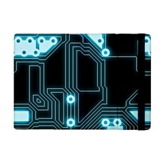 A Completely Seamless Background Design Circuitry Ipad Mini 2 Flip Cases by Amaryn4rt