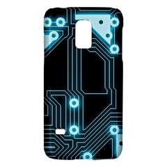 A Completely Seamless Background Design Circuitry Galaxy S5 Mini by Amaryn4rt