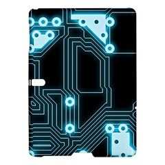 A Completely Seamless Background Design Circuitry Samsung Galaxy Tab S (10 5 ) Hardshell Case  by Amaryn4rt