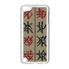 Ancient Chinese Secrets Characters Apple Ipod Touch 5 Case (white) by Amaryn4rt