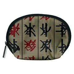 Ancient Chinese Secrets Characters Accessory Pouches (medium)  by Amaryn4rt