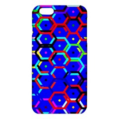 Blue Bee Hive Pattern Iphone 6 Plus/6s Plus Tpu Case by Amaryn4rt