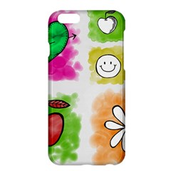 A Set Of Watercolour Icons Apple Iphone 6 Plus/6s Plus Hardshell Case by Amaryn4rt