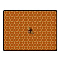 The Lonely Bee Fleece Blanket (small) by Amaryn4rt