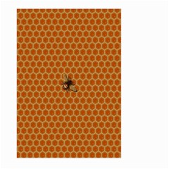 The Lonely Bee Large Garden Flag (two Sides) by Amaryn4rt