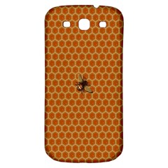 The Lonely Bee Samsung Galaxy S3 S Iii Classic Hardshell Back Case by Amaryn4rt