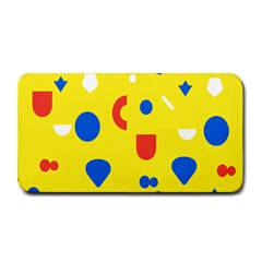 Circle Triangle Red Blue Yellow White Sign Medium Bar Mats