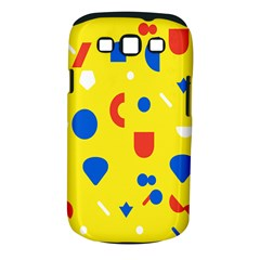 Circle Triangle Red Blue Yellow White Sign Samsung Galaxy S Iii Classic Hardshell Case (pc+silicone)