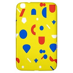 Circle Triangle Red Blue Yellow White Sign Samsung Galaxy Tab 3 (8 ) T3100 Hardshell Case  by Alisyart