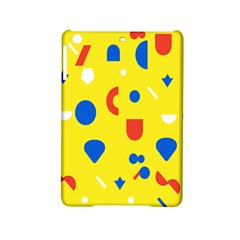 Circle Triangle Red Blue Yellow White Sign Ipad Mini 2 Hardshell Cases by Alisyart