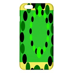 Circular Dot Selections Green Yellow Black Iphone 6 Plus/6s Plus Tpu Case by Alisyart