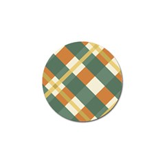 Autumn Plaid Golf Ball Marker (4 Pack) by Alisyart