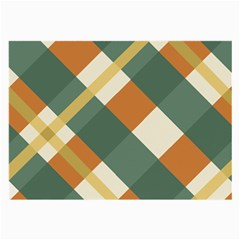 Autumn Plaid Large Glasses Cloth (2 Side) by Alisyart