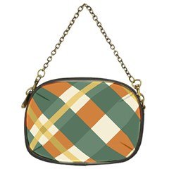 Autumn Plaid Chain Purses (one Side)  by Alisyart