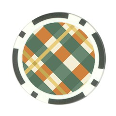 Autumn Plaid Poker Chip Card Guard (10 Pack) by Alisyart
