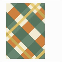 Autumn Plaid Small Garden Flag (two Sides) by Alisyart