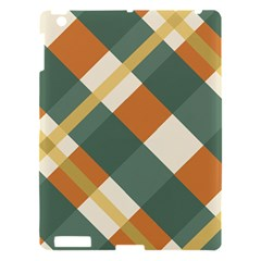 Autumn Plaid Apple Ipad 3/4 Hardshell Case by Alisyart