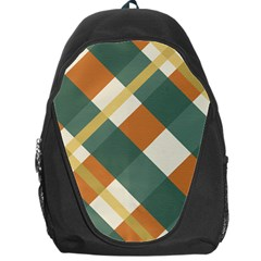 Autumn Plaid Backpack Bag