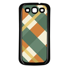 Autumn Plaid Samsung Galaxy S3 Back Case (black) by Alisyart