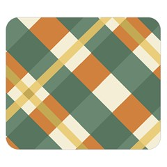 Autumn Plaid Double Sided Flano Blanket (small)  by Alisyart