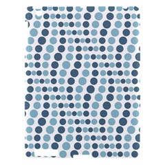 Circle Blue Grey Line Waves Apple Ipad 3/4 Hardshell Case by Alisyart