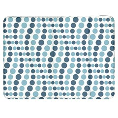 Circle Blue Grey Line Waves Samsung Galaxy Tab 7  P1000 Flip Case by Alisyart
