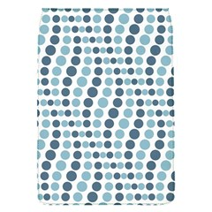 Circle Blue Grey Line Waves Flap Covers (s)