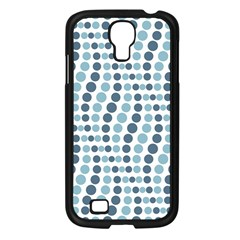 Circle Blue Grey Line Waves Samsung Galaxy S4 I9500/ I9505 Case (black) by Alisyart