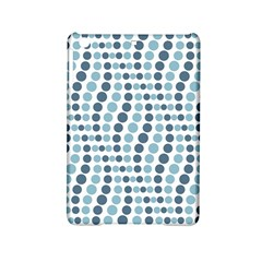 Circle Blue Grey Line Waves Ipad Mini 2 Hardshell Cases by Alisyart