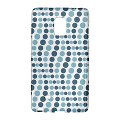 Circle Blue Grey Line Waves Galaxy Note Edge by Alisyart