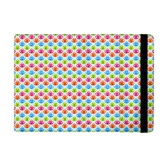 Colorful Floral Seamless Red Blue Green Pink Apple Ipad Mini Flip Case by Alisyart