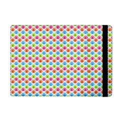 Colorful Floral Seamless Red Blue Green Pink Ipad Mini 2 Flip Cases by Alisyart