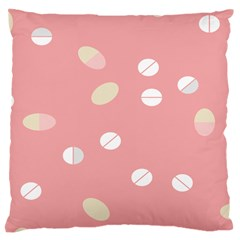 Drug Pink Large Cushion Case (two Sides) by Alisyart