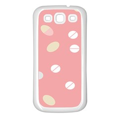 Drug Pink Samsung Galaxy S3 Back Case (white) by Alisyart