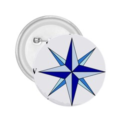 Compass Blue Star 2 25  Buttons
