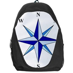 Compass Blue Star Backpack Bag