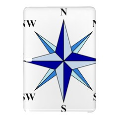 Compass Blue Star Samsung Galaxy Tab Pro 12 2 Hardshell Case by Alisyart
