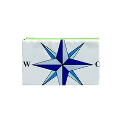 Compass Blue Star Cosmetic Bag (xs)