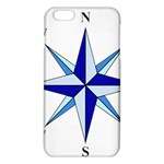 Compass Blue Star iPhone 6 Plus/6S Plus TPU Case Front