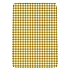Golden Yellow Tablecloth Plaid Line Flap Covers (s)  by Alisyart