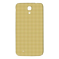 Golden Yellow Tablecloth Plaid Line Samsung Galaxy Mega I9200 Hardshell Back Case