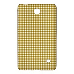 Golden Yellow Tablecloth Plaid Line Samsung Galaxy Tab 4 (8 ) Hardshell Case  by Alisyart