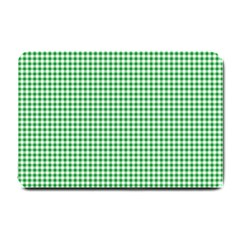 Green Tablecloth Plaid Line Small Doormat  by Alisyart
