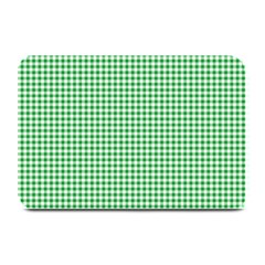 Green Tablecloth Plaid Line Plate Mats by Alisyart