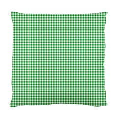 Green Tablecloth Plaid Line Standard Cushion Case (one Side) by Alisyart