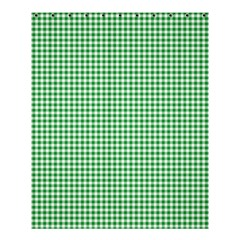Green Tablecloth Plaid Line Shower Curtain 60  X 72  (medium)  by Alisyart