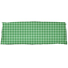 Green Tablecloth Plaid Line Body Pillow Case Dakimakura (two Sides) by Alisyart